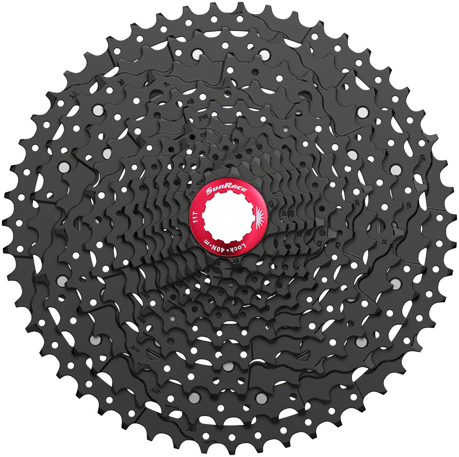 SunRace CSMZ800 Cassette - 12-Speed, 11-51t, ED Black