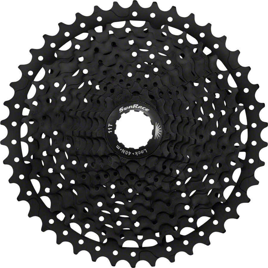 SunRace MS8 Cassette - 11 Speed, 11-42t, Black