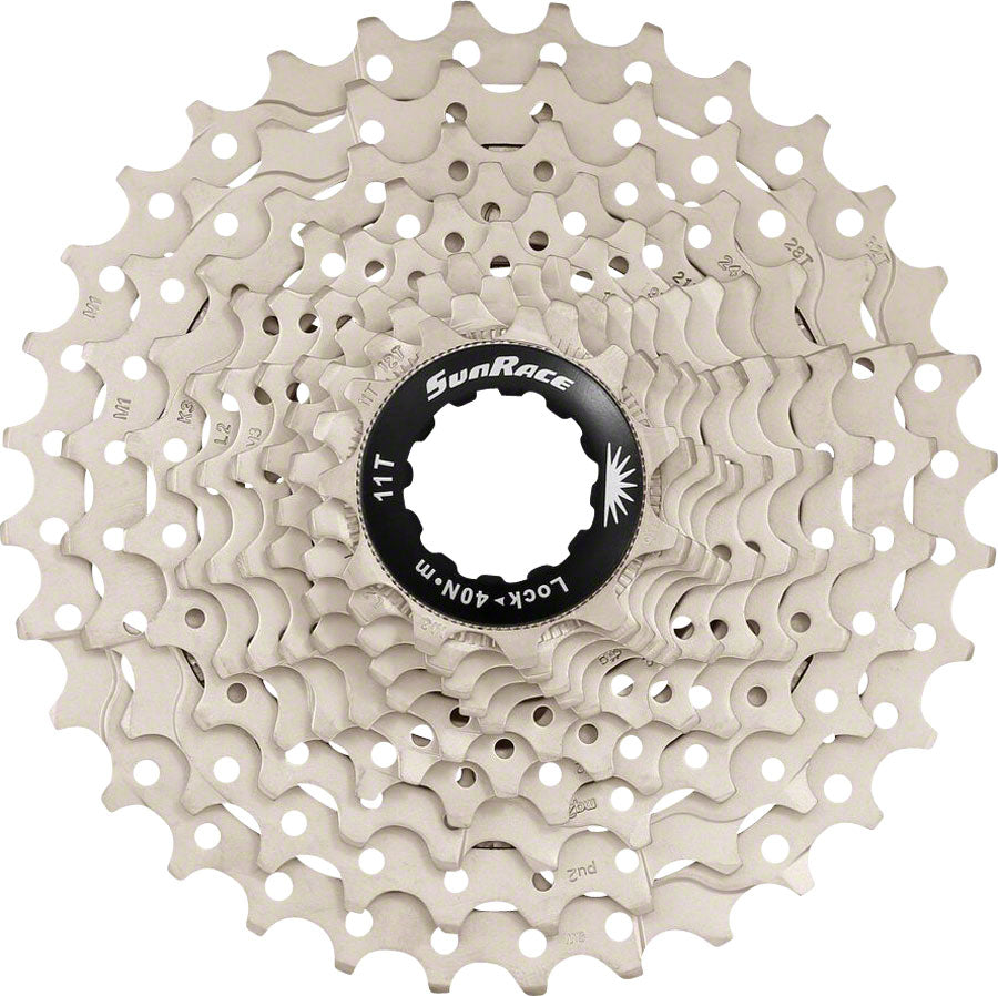 SunRace MS3 Cassette - 10 Speed, 11-42t, Silver