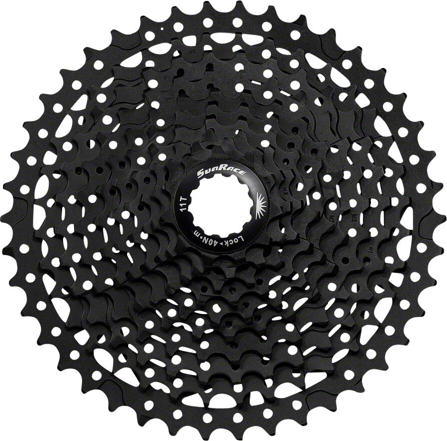 SunRace MS3 Cassette - 10 Speed, 11-42t, Black