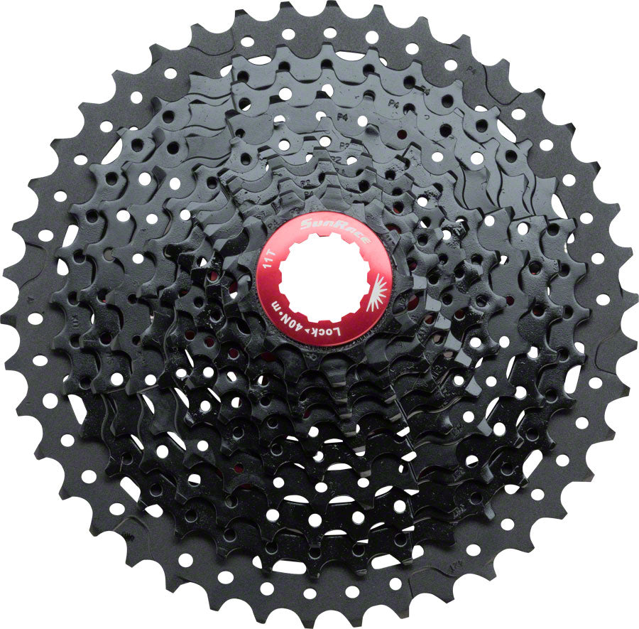 SunRace MX8 Cassette - 11 Speed, 11-42t, Black