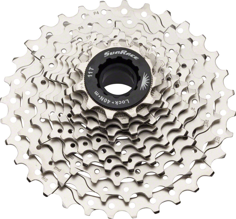 SunRace RS3 Cassette - 11 Speed, 11-32t, Silver