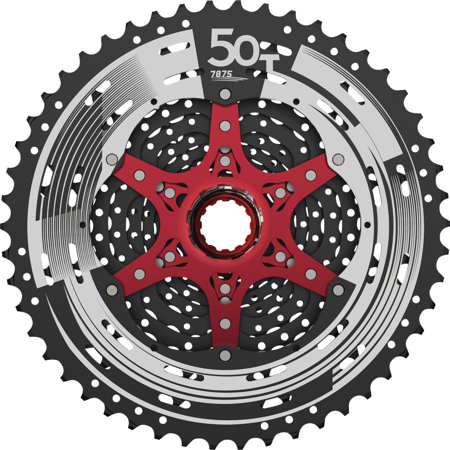 SunRace MZ90 Cassette - 12 Speed, 11-50t, Black - Cassettes - MZ90 12 Speed Cassette