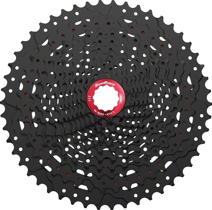 SunRace MX8 Cassette - 11 Speed, 11-50t, Black
