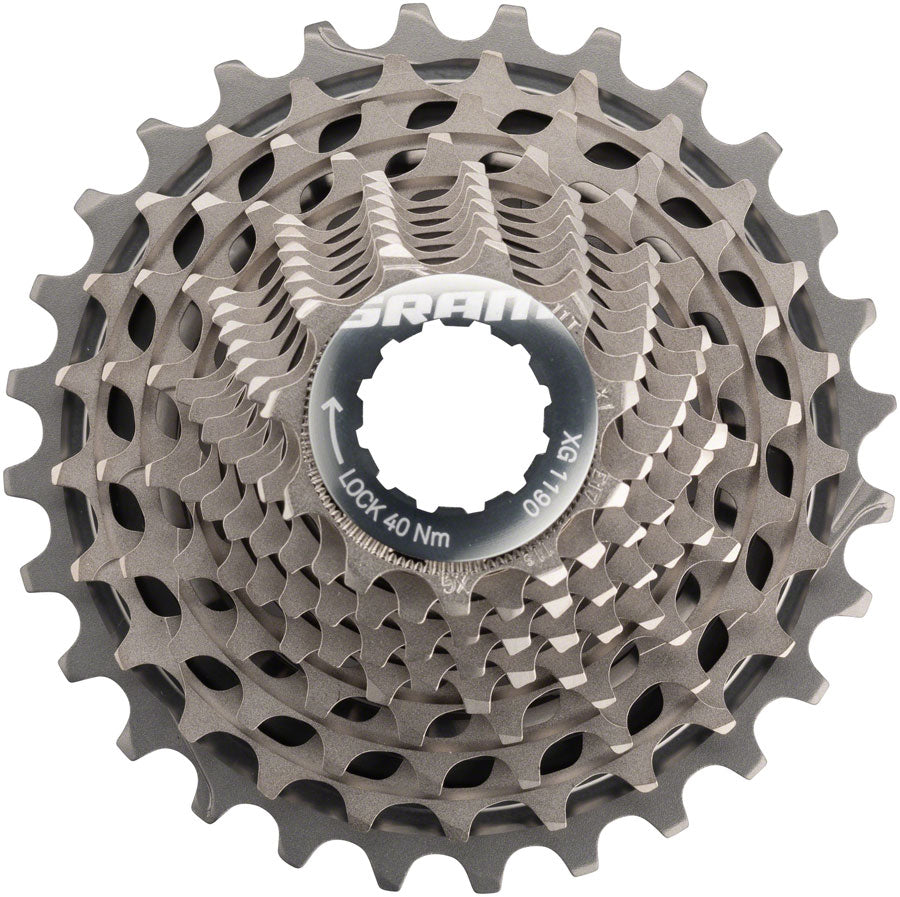SRAM Red XG-1190 Cassette 11-Speed 11-28 A2 MPN: 00.2418.067.002 UPC: 710845778728 Cassette Red Cassette