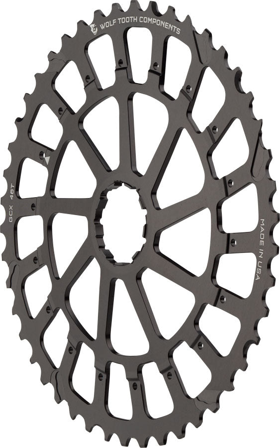 Wolf Tooth GCX XX1/X01 Replacement Cog 46T, Black