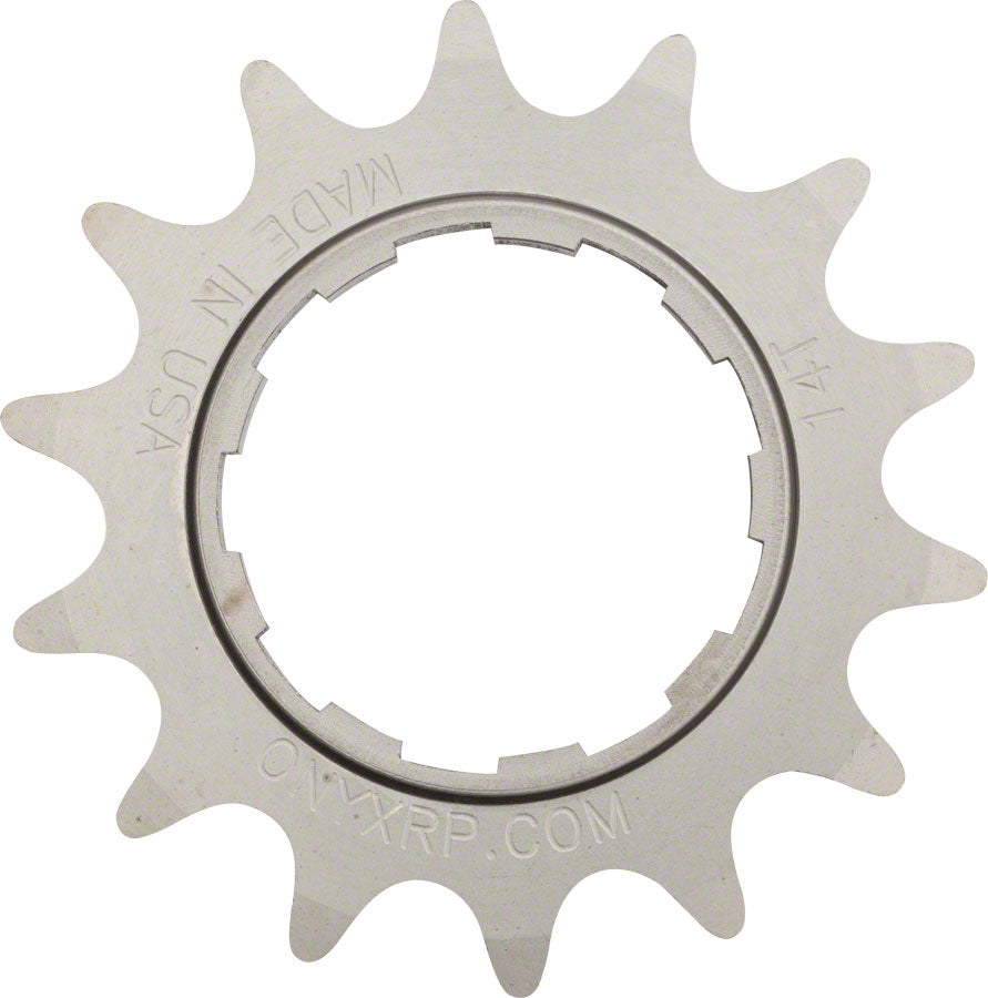 Onyx Stainless Cog: Shimano Compatible, 3/32