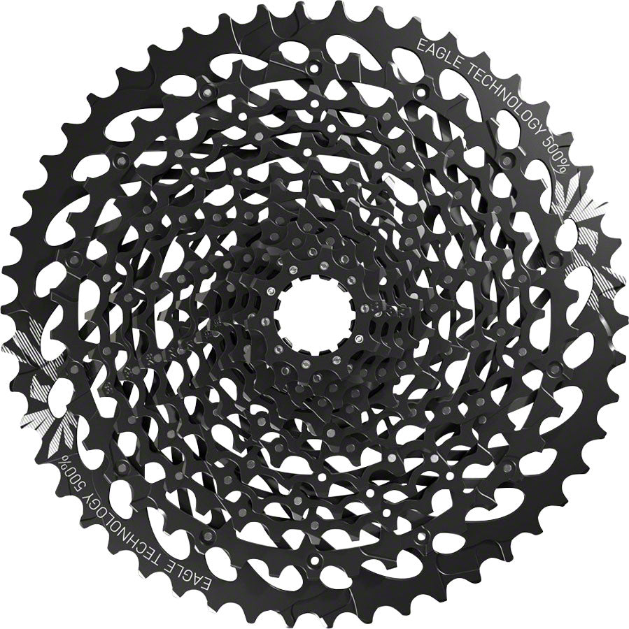 SRAM GX Eagle XG-1275 Cassette - 12 Speed, 10-50t, Black, For XD Driver Body