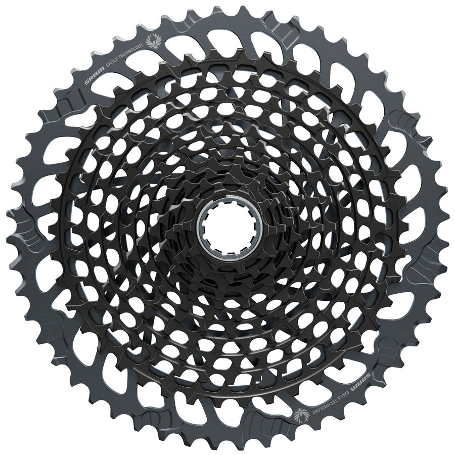 SRAM X01 Eagle XG-1295 Cassette - 12 Speed, 10-52t, 520% Range, Black, For XD Driver Body
