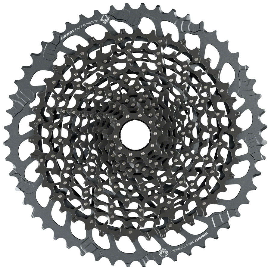 SRAM GX Eagle XG-1275 Cassette - 12-Speed, 10-52t, Black, For XD Driver Body MPN: 00.2418.109.000 UPC: 710845853050 Cassettes GX Eagle XG-1275 12-Speed Cassette