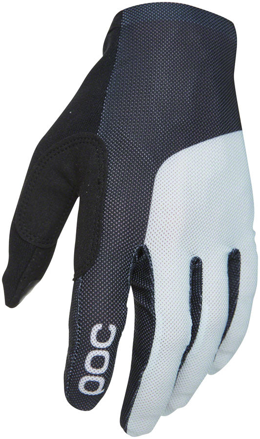 POC Essential Mesh Gloves - Black/Oxolane Gray, Full Finger, Men's, Large