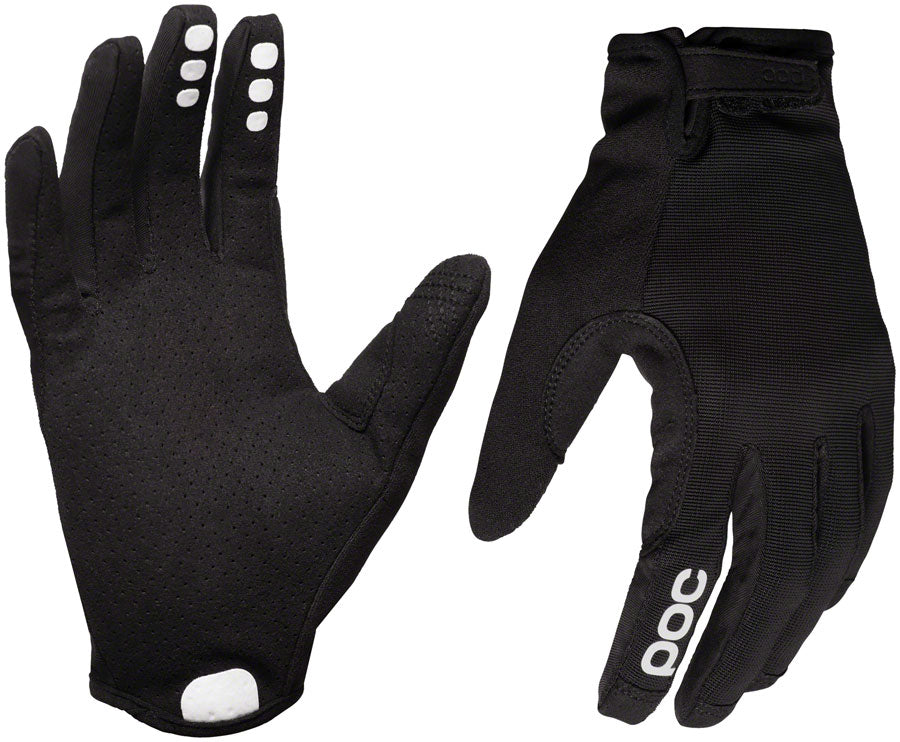 POC Resistance Enduro Adj Gloves - Uranium Black, Full Finger, Large