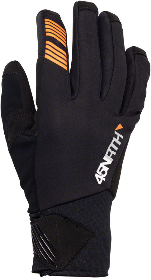 45NRTH Nokken Gloves - Black, Full Finger, X-Large UPC: 708752242203 Glove Nokken Gloves