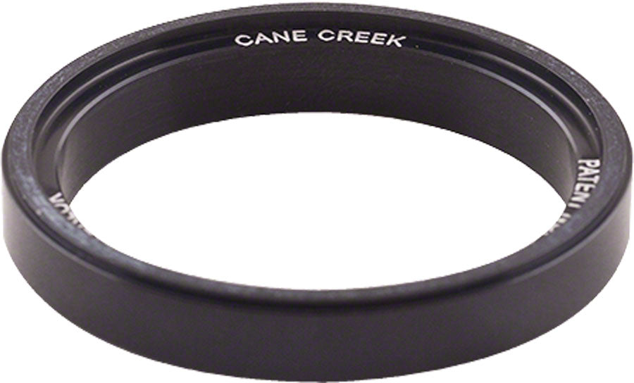 Cane Creek 110-Series 5mm Interlok Spacer Black MPN: HD01109-03K UPC: 840226090580 Headset Stack Spacer 110-Series Alloy Interlok