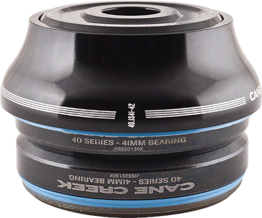 Cane Creek 40 IS41/28.6 / IS41/30 Tall Cover Headset Black