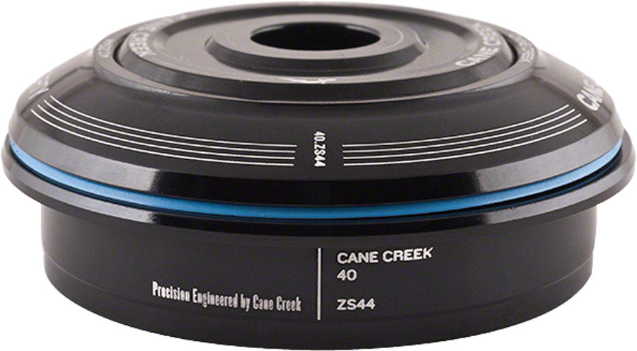 Cane Creek 40 ZS44/28.6 Short Cover Top Headset Black 8mm stack height