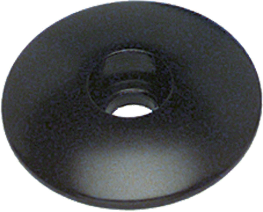 "Problem Solvers Top Cap for Alloy / Chromoly Steerers 1-1/8"" Black - Headset Top Cap - Top Caps"