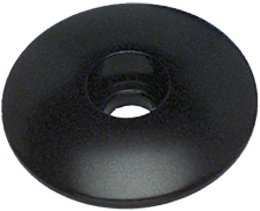 "Problem Solvers Top Cap for Alloy / Chromoly Steerers 1-1/8"" Black MPN: TP20-2 TOP CAP (31.8X28.3MM) BLK UPC: 708752000698 Headset Top Cap Top Caps"