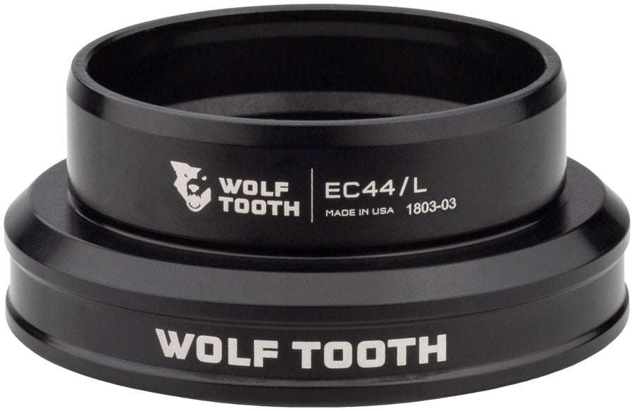Wolf Tooth EC44/40 Lower Headset Black