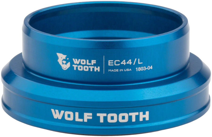 Wolf Tooth EC44/40 Lower Headset Blue