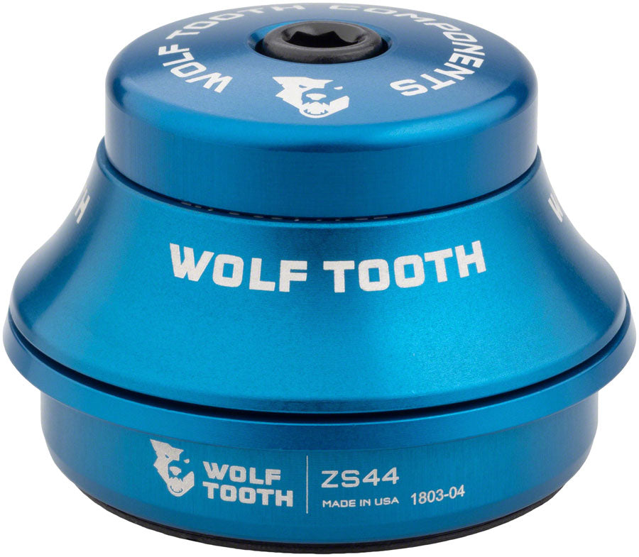 Wolf Tooth Premium Headset - ZS44/28.6 Upper, 15mm Stack, Blue