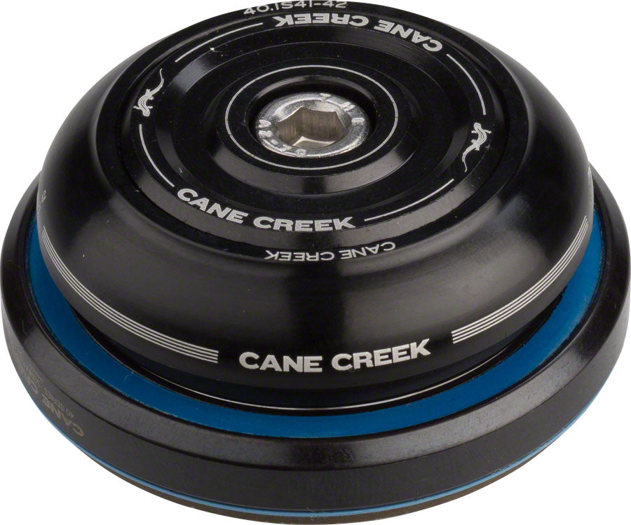 Cane Creek 40 IS41/28.6 IS52/40 Short Cover Headset, Black