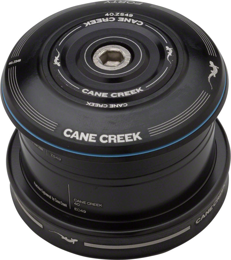 Cane Creek 40 ZS49/28.6 EC49/40 Headset, Black MPN: BAA0655K UPC: 840226077444 Headsets 40-Series ZS - Zero Stack
