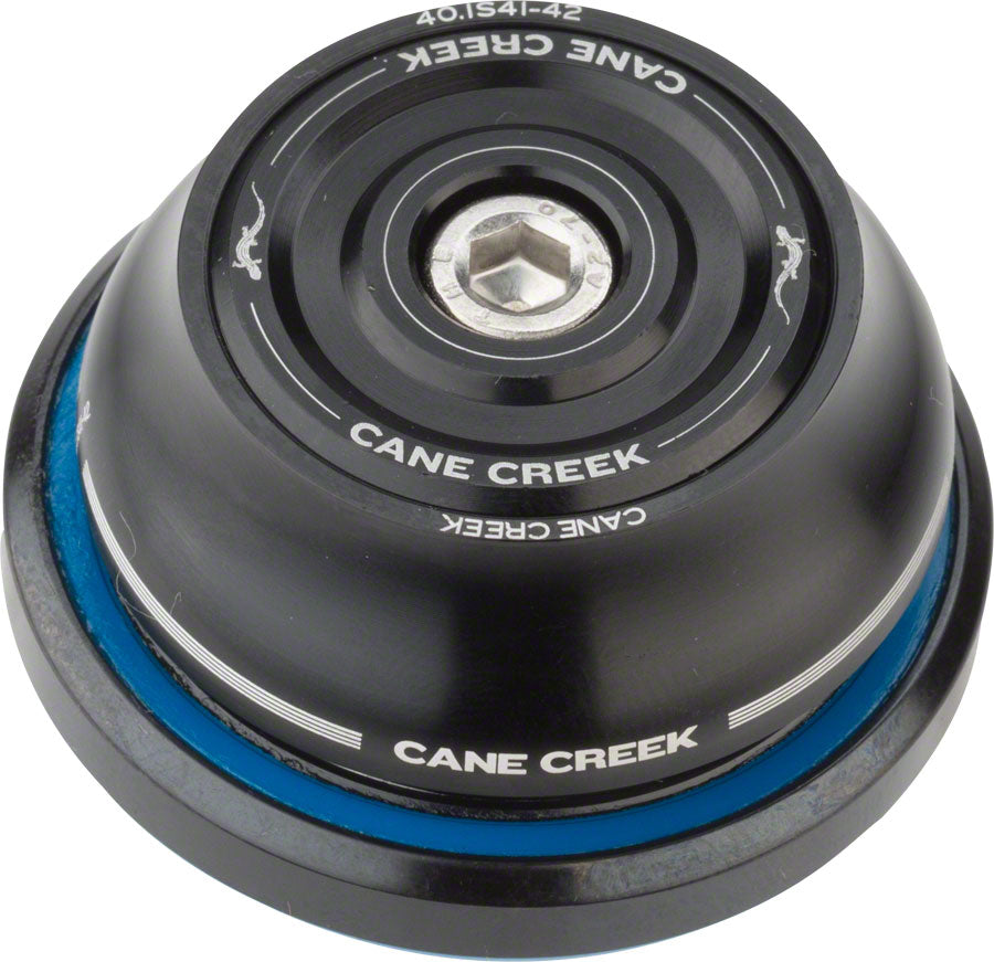 Cane Creek 40 IS41/28.6 / IS52/40 Tall Cover Headset Black MPN: BAA0785K UPC: 840226118253 Headset 40-Series IS - Integrated