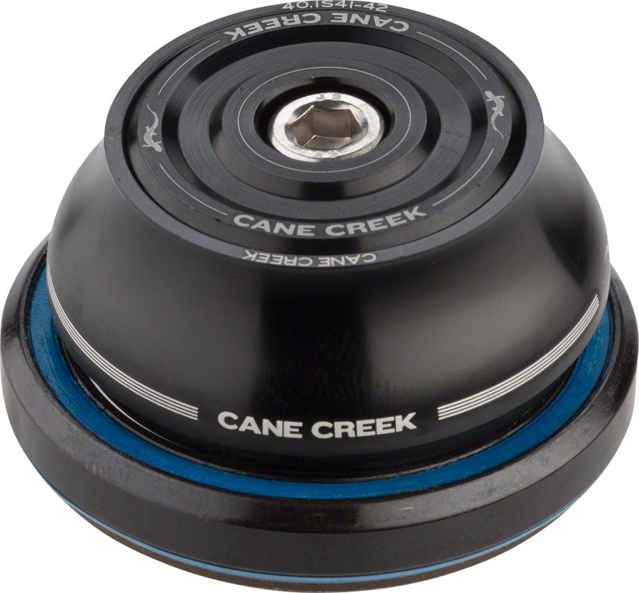 Cane Creek 40 IS42/28.6 / IS52/40 Tall Cover Headset Black MPN: BAA0784K UPC: 840226118246