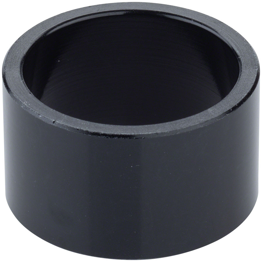Problem Solvers Headset Stack Spacer - 28.6, 20mm, Aluminum, Black, Sold Each
