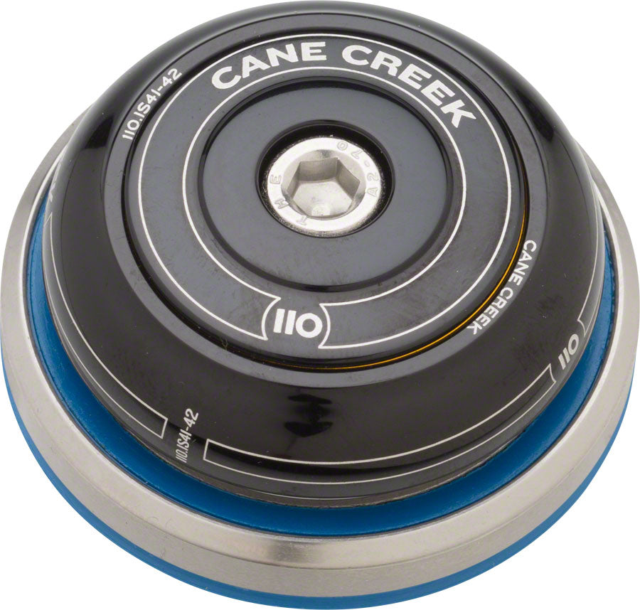 Cane Creek 110 IS41/28.6 IS52/40 Headset, Black MPN: BAA0768K UPC: 840226117515