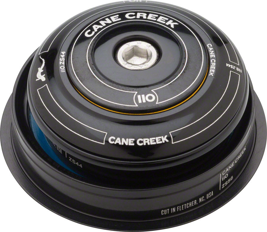 Cane Creek 110 ZS44/28.6 ZS56/40 Headset, Black MPN: BAA0825K UPC: 840226119823 Headset 110-Series ZS - Zero Stack