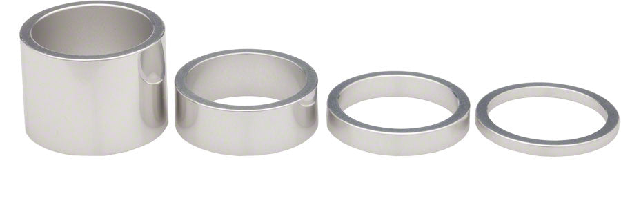 Chris King Headset Spacer Kit, Silver MPN: PHS213S UPC: 841529027587 Headset Stack Spacer Spacer Kit