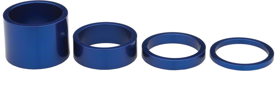 Chris King Headset Spacer Kit, Navy