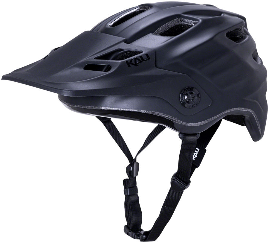 Kali Protectives Maya 3.0 Helmet - Solid Matte Black/Black, Small/Medium