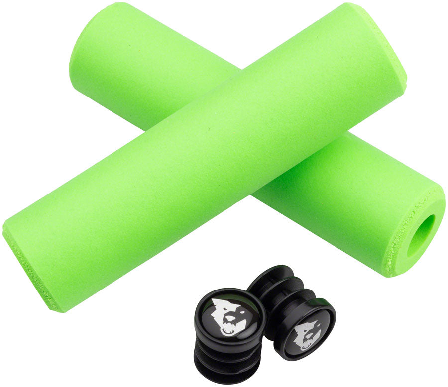 Wolf Tooth Fat Paw Grips - Green - Grip - Fat Paw