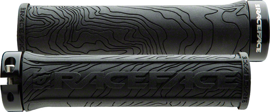 Race Face Half Nelson Lock-On Grips Black Pair