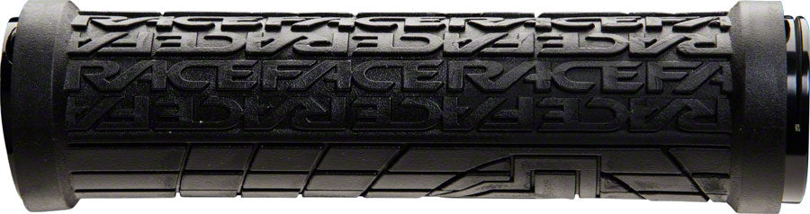 RaceFace Grippler Grips - Black, Lock-On, 33mm MPN: AC990090 UPC: 821973317519 Grip Grippler