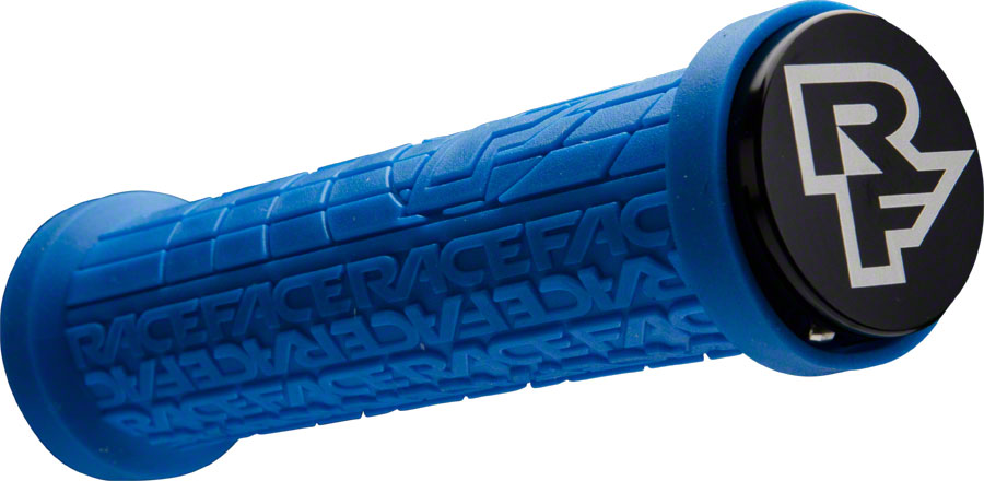 RaceFace Grippler 30mm Lock-On Grip Blue - Grip - Grippler