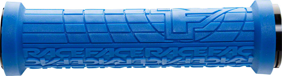 RaceFace Grippler 30mm Lock-On Grip Blue MPN: AC990081 UPC: 821973317427 Grip Grippler
