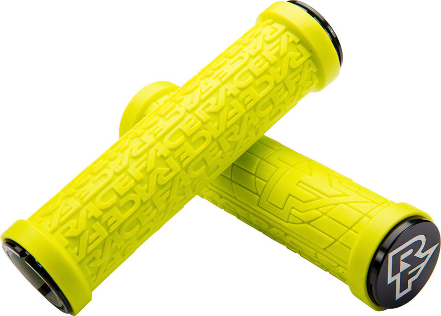 RaceFace Grippler 30mm Lock-On Grip Yellow MPN: AC990085 UPC: 821973317465 Grip Grippler