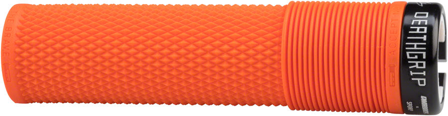 DMR Deathgrip Grips - Orange, Lock-On