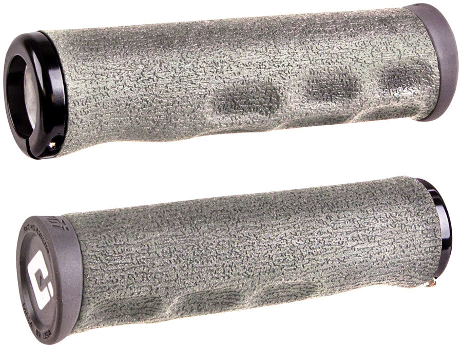 ODI Dread Lock Grips - Graphite, Lock-On