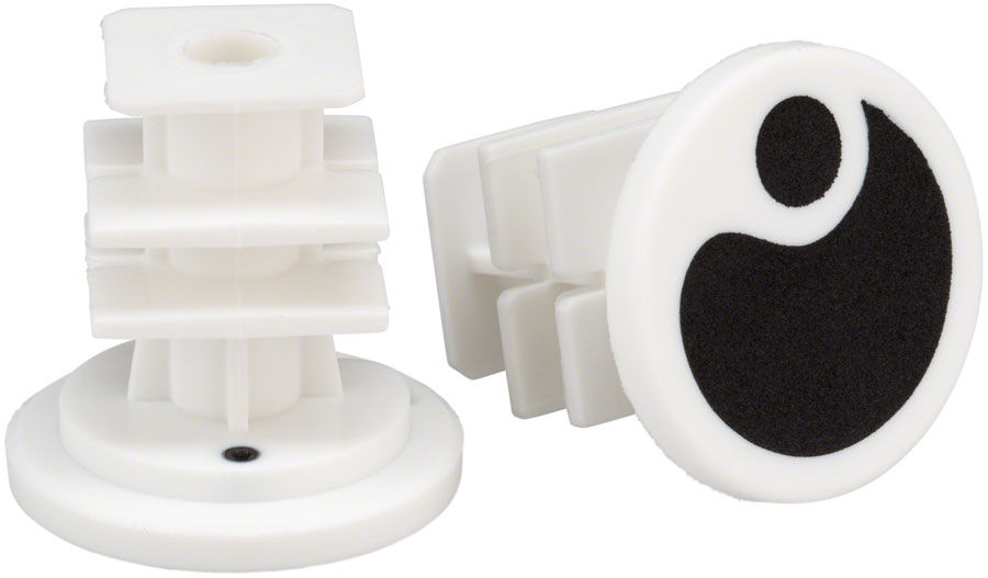 Ergon End Plugs for GA2/GA2Fat/GA3: Black