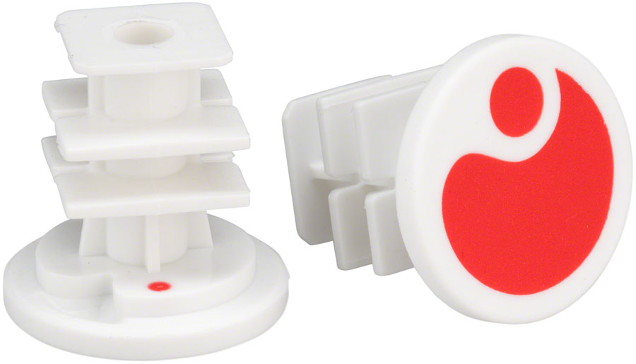 Ergon End Plugs for GA2/GA2Fat/GA3: Red