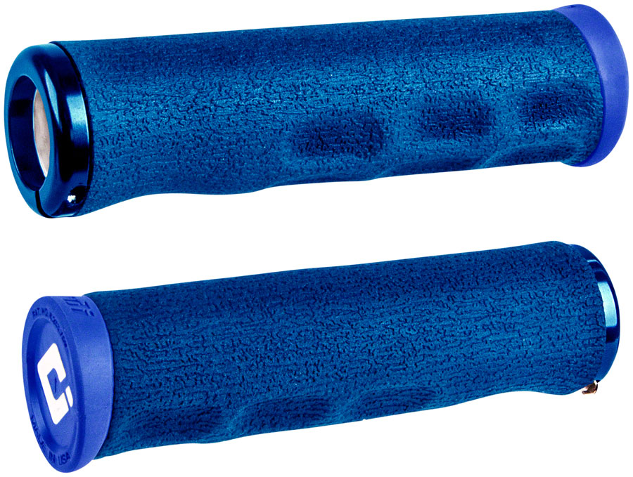 ODI Dread Lock Grips - Blue, Lock-On