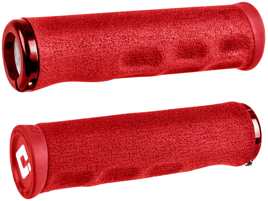 ODI Dread Lock Grips - Red, Lock-On MPN: D36DLR-R Grip Dread Lock Grips