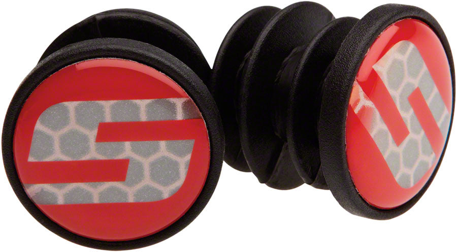 SRAM Road Handlebar End Plugs S Logo MPN: 00.7915.074.020 UPC: 710845666636 Bar End Plug End Plugs