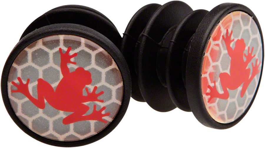 SRAM Road Handlebar End Plugs Make the Leap Frog MPN: 00.7915.074.030 UPC: 710845666643 Bar End Plug End Plugs