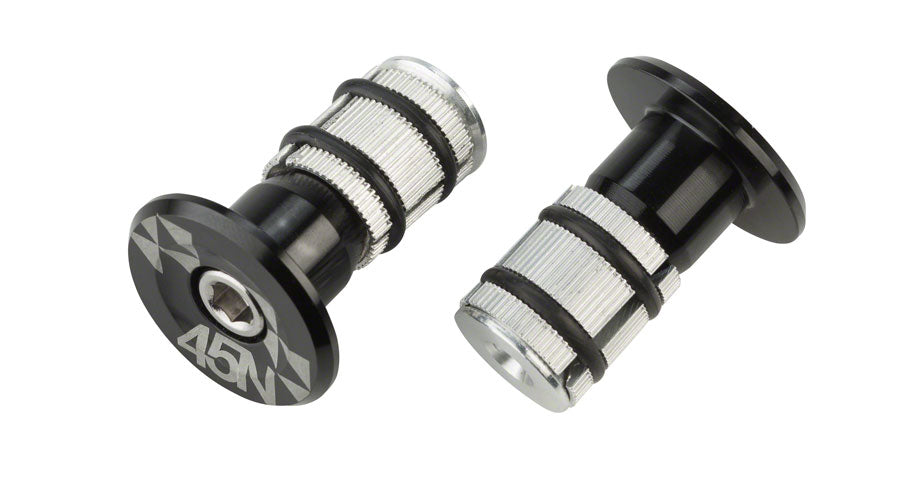 45NRTH Cobrafist Bar Plugs: Black UPC: 708752111950 Pogies Cobrafist Parts